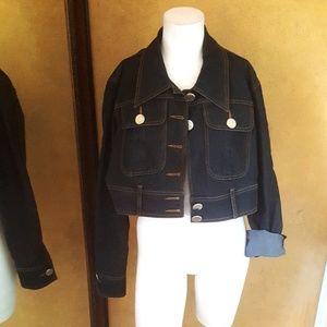 Bisou Bisou michele bohbot Denim Jacket plus 18